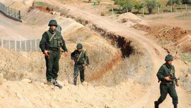 صورة توقيف 12 تاجر مخدرات وحجز 8 قناطير عبر الحدود مع المغرب