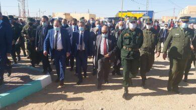 صورة وزيرالصحة في زيارة عمل إلى ولاية أولاد جلال
