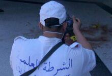 صورة شخص يعتدي على زوجته بسلاح أبيض في أول أيام رمضان