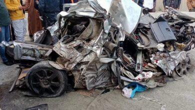 صورة حادث مرور خطير بالبويرة