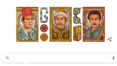 صورة غوغل يحتفل بالفنان الذي احتل قمة هرم السينما والدراما العربية