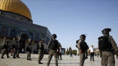 صورة بعد ليلة دامية.. هُدوء حذر يخيمُ على المسجد الأقصى