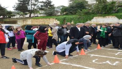 صورة انطلاق اختبار التربية البدنية للمترشحين الأحرار
