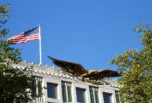 صورة بهذه الطريقة هنأت السفارة الأمريكية الجزائريين بعيد الفطر!