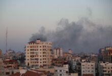 صورة حماس: المجزرة التي ارتكبها الصهاينة في مخيم الشاطئ جريمة حرب