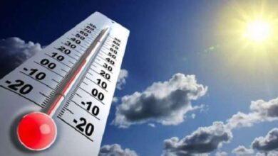 صورة الحرارة تتجاوز الخمسين بداية من الغد