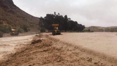 صورة خلية أزمة في ولاية المسيلة لمعالجة آثار السيول