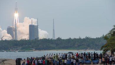 صورة هذه توقعات مؤسسة فضائية أمريكية حول الصاروخ الصيني الهائم