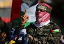 صورة القسام تعلن استشهاد قائد لواء غزة باسم عيسى