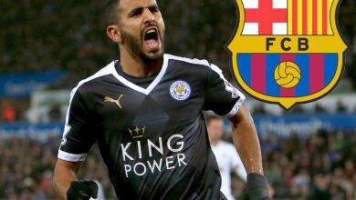 صورة نادي برشلونة يسعى لضم محرز