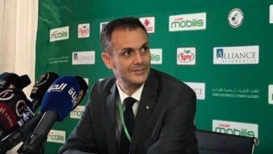 صورة حماد رئيسا للجنة الأولمبية الجزائرية للعهدة القادمة
