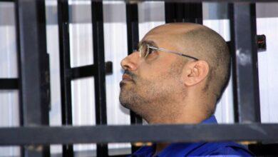 صورة تقارير تتحدث عن ترشح نجل زعيم ليبيا السابق معمر القذافي
