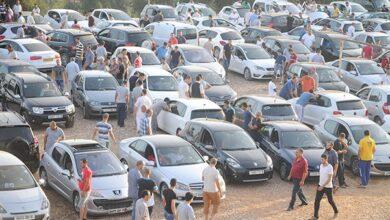 صورة غلق الأسواق الأسبوعية وتعليق التظاهرات التي تتزامن والانتخابات