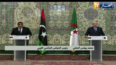 صورة رئيس الجمهورية: الجزائر ليس لديها أطماع في ليبيا وستكون رهن إشارتها