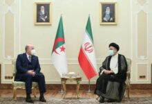 صورة هذا ما دار بين رئيس إيران والوزير الأول بن عبد الرحمان