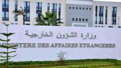 صورة الجزائر تستنكر التصرفات غير المسؤولة للمغرب
