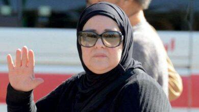 صورة هكذا كانت الفنانة المصرية دلال عبد العزيز قبل شهر من وفاتها