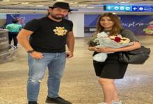 صورة النجمة سهيلة بن لشهب تصل دبي لتصوير أغنية بالخليجي