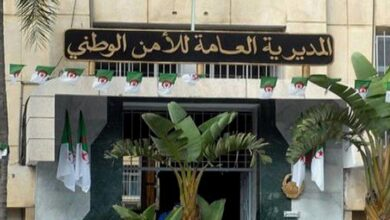 صورة تنصيب المفتش الجهوي الجديد لشرطة غرب وهران