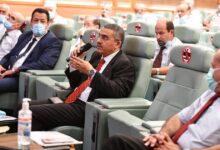 صورة حكار يشدد على ضرورة استخدام التقنيات الحديثة لتدعيم وزيادة القدرات الإنتاجية