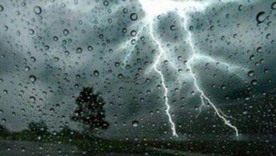 صورة الأرصاد الجوية: أمطار رعدية غزيرة على هذه الولايات