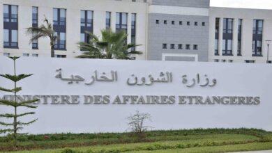 صورة وزارة الخارجية: الجزائر تتابع بقلق كبير تطور الأوضاع في لبنان