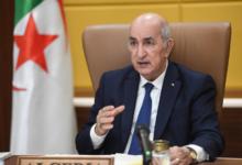 صورة الرئيس تبون يوجه رسالة لنظيره الموريتاني